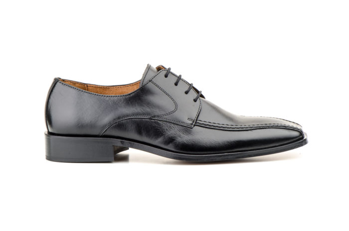 zapato piel negro perfil-Soulfor